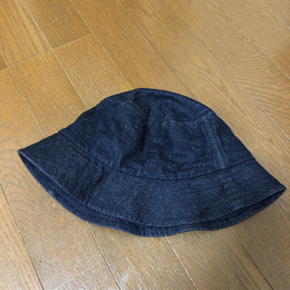 MUJI (無印良品) - 無印良品 デニム帽子