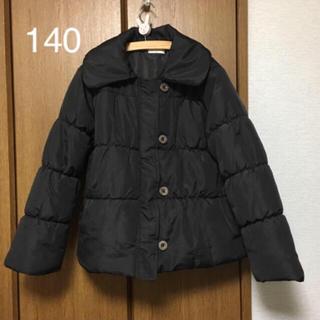 シマムラ(しまむら)の黒いダウンコート 140(コート)