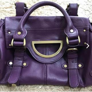 バイオレットハンガー(Violet Hanger)の【美品です】バイオレットハンガー ハンドバッグ(ハンドバッグ)