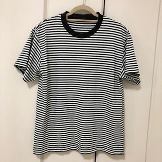 ムジルシリョウヒン(MUJI (無印良品))の無印 MUJI LABO ボーダーT 半袖(Tシャツ/カットソー(半袖/袖なし))