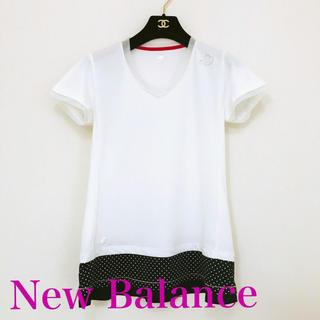 ニューバランス(New Balance)の《美品》ニューバランス チュニック丈 トレーニング Tシャツ M(ウェア)