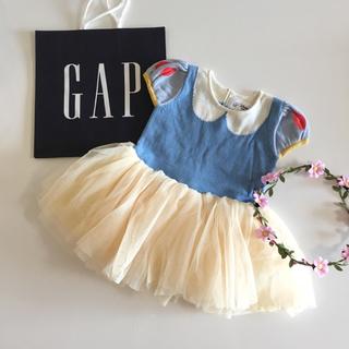 ベビーギャップ(babyGAP)の新品♡今期♡baby gap♡白雪姫 ワンピース ハロウィン ディズニー 衣装(ワンピース)