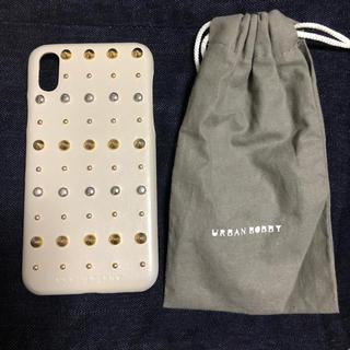 アーバンボビー(URBANBOBBY)の【美品】URBANBOBBY iPhoneX iPhoneXsケース(iPhoneケース)
