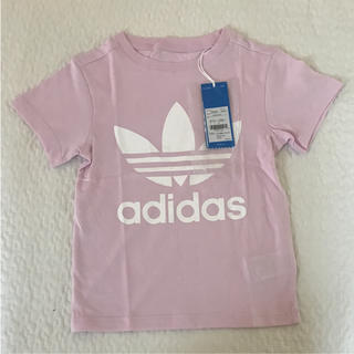 アディダス(adidas)の新品 adidas Tシャツ キッズ 120 アディダスオリジナルス 女の子(Tシャツ/カットソー)