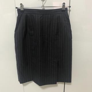 ミツコシ(三越)のスーツ スカート ストライプ(スーツ)