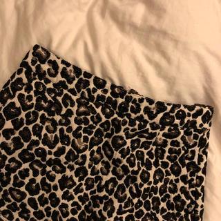 ローリーズファーム(LOWRYS FARM)のレオパードスカート(ミニスカート)