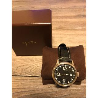 アガット(agete)のagete FOR MEN  希少 腕時計(腕時計)