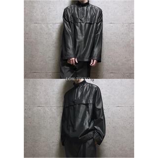 [used]mode black half zip nylon jacket.(ナイロンジャケット)