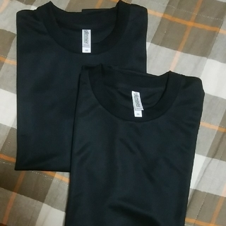 glimmer ドライTシャツ2枚セット メンズSS(Tシャツ/カットソー(半袖/袖なし))