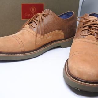 コールハーン(Cole Haan)のコールハーン メンズ シューズ 靴 ブラウン ベージュ 箱付き 8M 箱付き (ドレス/ビジネス)