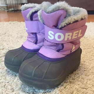 ソレル(SOREL)のSOREL キッズブーツ(ブーツ)