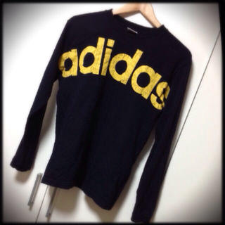 アディダス(adidas)のUSED adidas ろんてぃー(Tシャツ(長袖/七分))