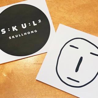 ★非売品★ skullhong シール ステッカー スカルホンギ スカルホン