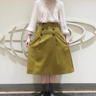 デミルクスビームス(Demi-Luxe BEAMS)のDemi-luxe BEAMS ハイウエストスカート(ひざ丈スカート)