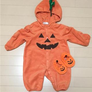 かぼちゃ ロンパース(ロンパース)