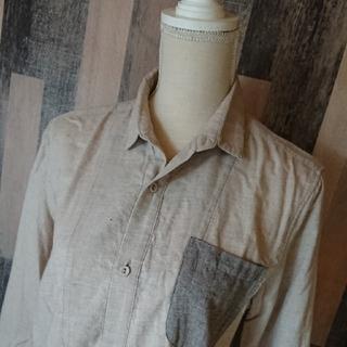 イチミリ(ichi-miri)のICHIMIRI切替ロングシャツ(シャツ)