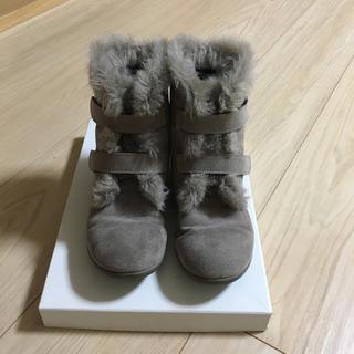 ジルスチュアートニューヨーク(JILLSTUART NEWYORK)のジルスチュアートニューヨーク  ブーツ 21センチ(ブーツ)