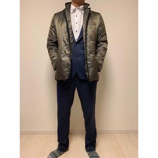 アレグリ(allegri)の☆スーツの上から着ても格好いい☆ ダウンジャケット-allegri-【男性用】(ダウンジャケット)