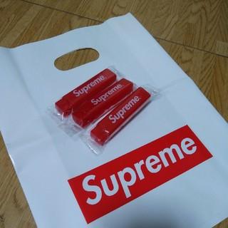 シュプリーム(Supreme)のSupreme 歯ブラシ 2点価格 ラスト 数量限定レッド(歯ブラシ/デンタルフロス)