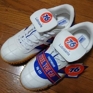 セブンティーシックスルブリカンツ(76 Lubricants)の限定値下げ!76の安全靴26.0cm ホワイト 新品未使用(その他)