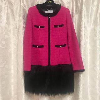 レディー(Rady)の新品♡バイカラーツイードコート♡(毛皮/ファーコート)