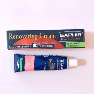 サフィール(Saphir)のサフィール 補修クリーム ピンク 革クリーム レノベイティングカラー(その他)