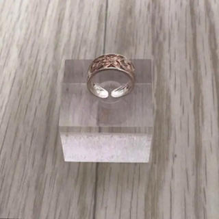 SV925 刻印あり ハワイアンジュエリー ピンキーリング(リング(指輪))