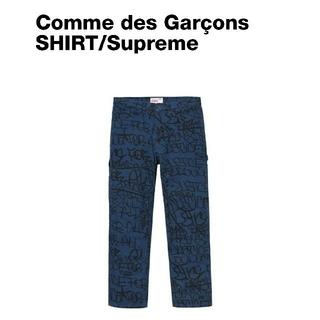 コムデギャルソン(COMME des GARCONS)のシュプリーム コムデギャルソン シャツ(ペインターパンツ)