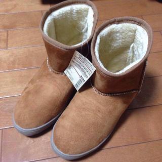 ムジルシリョウヒン(MUJI (無印良品))のMUJI サイドステッチボアブーツ(ブーツ)