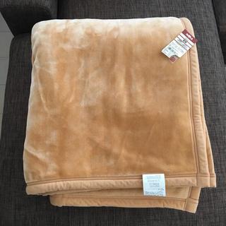 ムジルシリョウヒン(MUJI (無印良品))の無印良品 アクリル毛布 ダブルサイズ 新品(毛布)