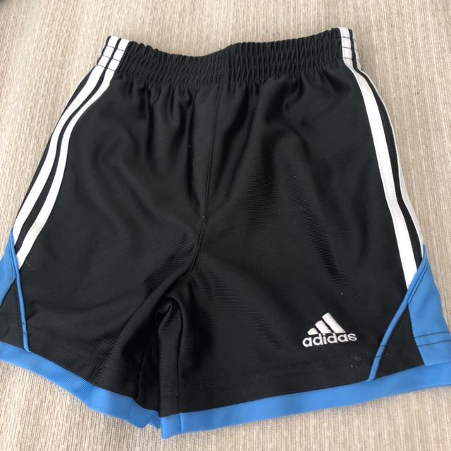 adidas(アディダス)のaddidas ハーフパンツ 2歳 キッズ/ベビー/マタニティのキッズ服 男の子用(90cm~)(パンツ/スパッツ)の商品写真