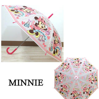 ディズニー(Disney)の人気のディズニー❤️ミニー ディズニー 傘 キッズ 55cm(傘)