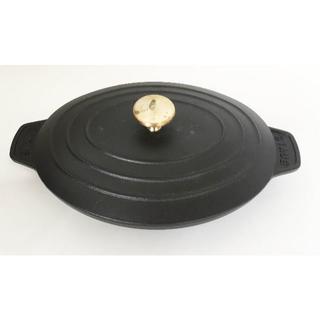 ストウブ(STAUB)の未使用☆STAUB オーバル ホットプレート 23cm(調理道具/製菓道具)