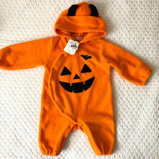 ハロウィン かぼちゃ ロンパース (その他)