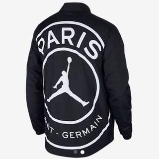 ナイキ(NIKE)のひらたゆうき様専用psg nike jordan coach jacket(ナイロンジャケット)