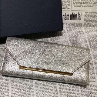 アッシュペーフランス(H.P.FRANCE)の長財布 オケージョン  キャメル レザー(財布)