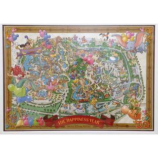 ディズニー(Disney)のハピネスイヤーバージョンポスター 30周年記念ポスター(ポスター)