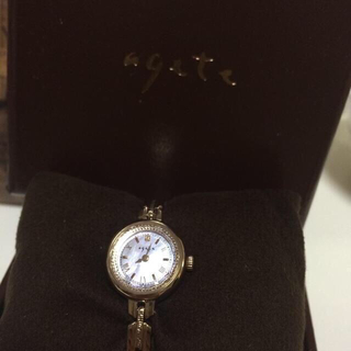 アガット(agete)の◇agete 腕時計 保証書付き ◇(腕時計)
