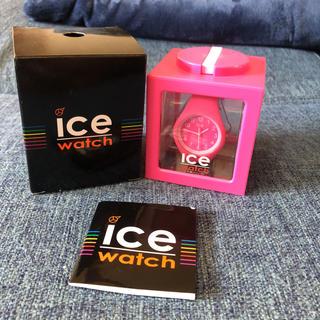アイスウォッチ(ice watch)のIce watch pink(腕時計)