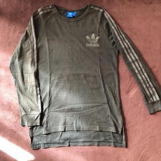 アディダス(adidas)のadidas originals カーキーロングTシャツ(Tシャツ/カットソー(半袖/袖なし))