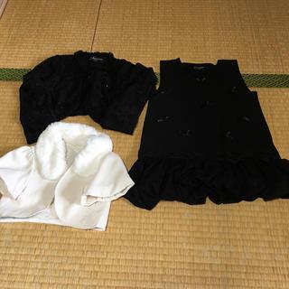 シマムラ(しまむら)の120㎝  バースデイ フォーマルセット バラ売りok(ドレス/フォーマル)