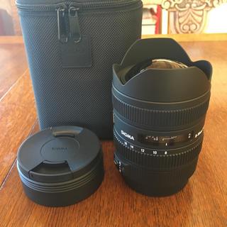 シグマ(SIGMA)の超美品 CANON用 SIGMA 8-16mm f4.5-5.6 DC HSM(レンズ(ズーム))