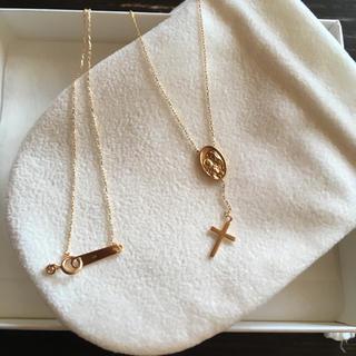 エナソルーナ(Enasoluna)のSkinny mariamedaille necklace(ネックレス)