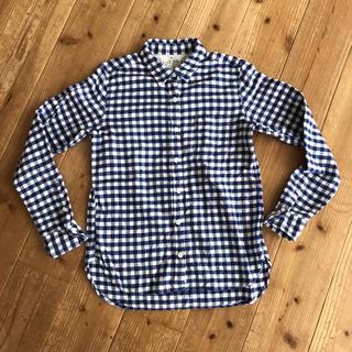 ムジルシリョウヒン(MUJI (無印良品))の無印良品 ギンガムチェック ネルシャツ(シャツ/ブラウス(長袖/七分))