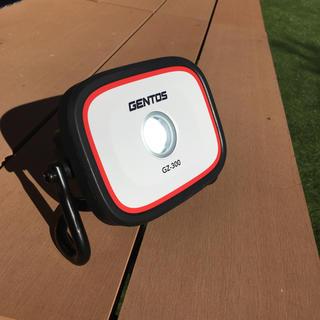 ジェントス(GENTOS)のGENTOS アウトドア ライト 投光器 作業時 災害時 レジャーにも(防災関連グッズ)