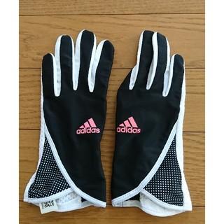 アディダス(adidas)ののぶじゅん様専用 アディダス  ランニンググローブ    ジュニアS(手袋)