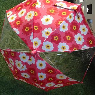 KIDS FORET - キッズフォーレ(๑>◡<๑)フラワー柄 傘☆可愛い〜!