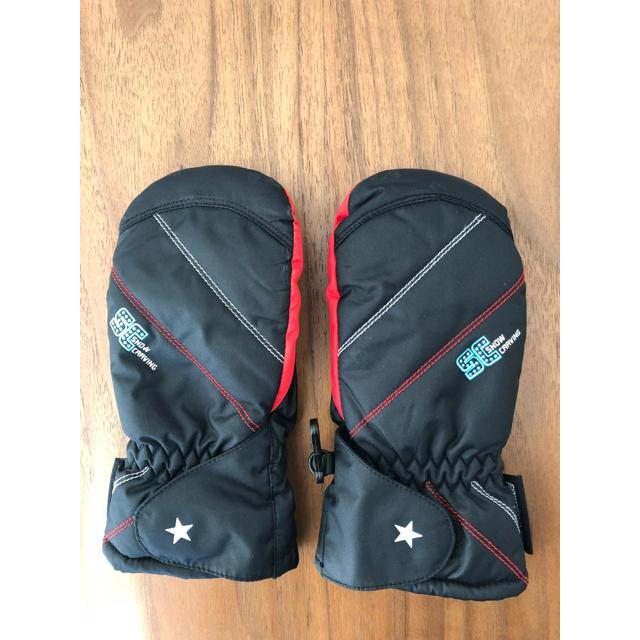 【中古】スキー グローブ キッズ KM 105-120cm目安 スポーツ/アウトドアのスノーボード(ウエア/装備)の商品写真