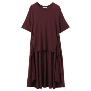 アメリヴィンテージ(Ameri VINTAGE)のバックロングドレープT(Tシャツ(半袖/袖なし))
