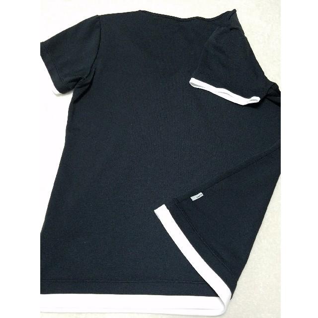 adidas(アディダス)のアディダスレディス半袖ウェアLサイズ★ブラック スポーツ/アウトドアのテニス(ウェア)の商品写真